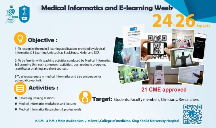 Medical Informatics and E-learning Week