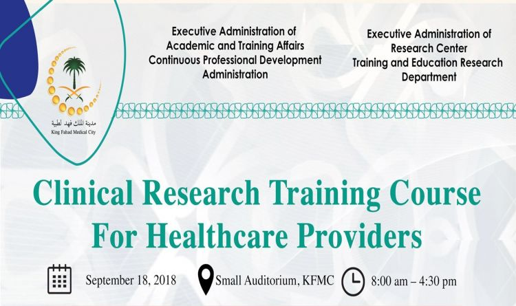 Clinical Research Training Course For Healthcare Providers