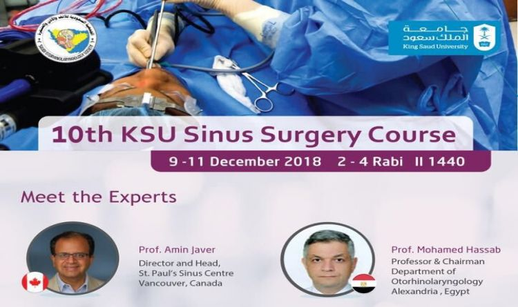 10th KSU Sinus Surgery Course