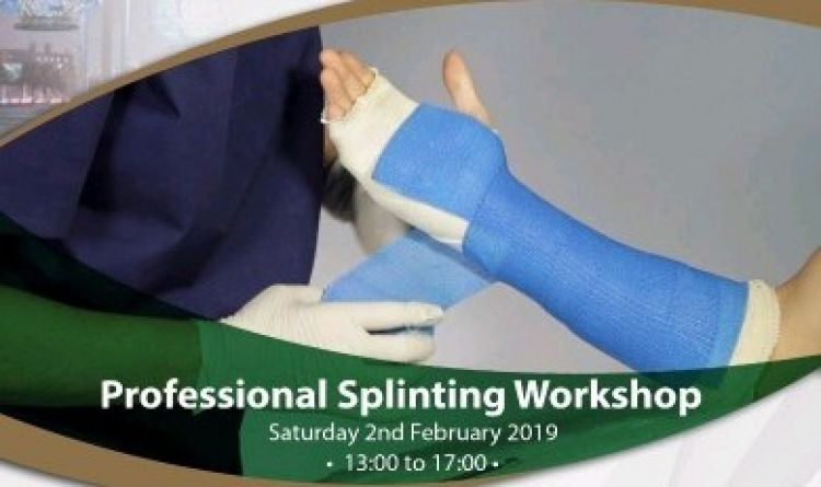 Professional Splinting Workshop