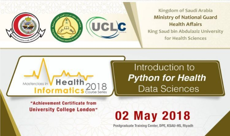 Introduction to PHYTON for HEALTH Data Sciences