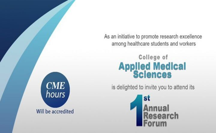 1st Annual Research Forum