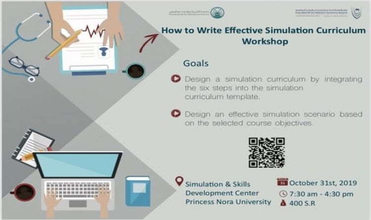 How to Write Effective Simulation Curriculum Workshop