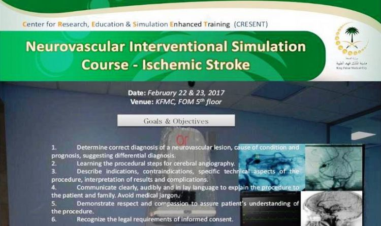 Neurovascular Interventional Simulation Course - Ischemic Stroke