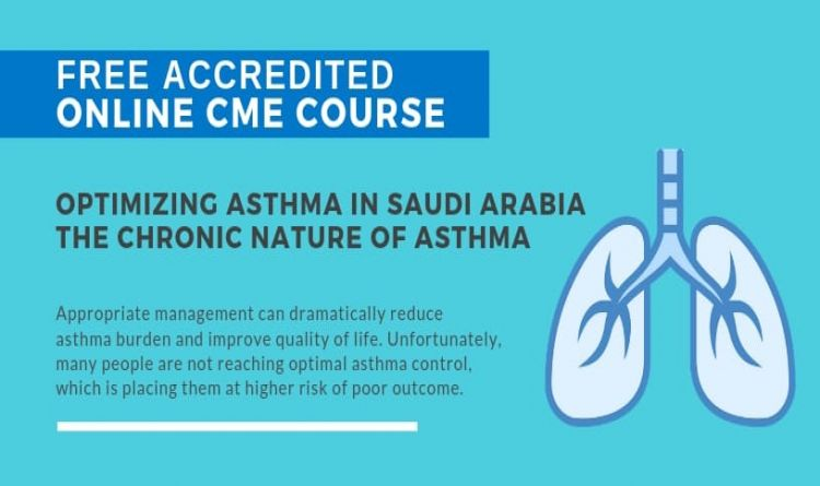 Optimizing Asthma In Saudi Arabia The Chronic Nature Of Asthma