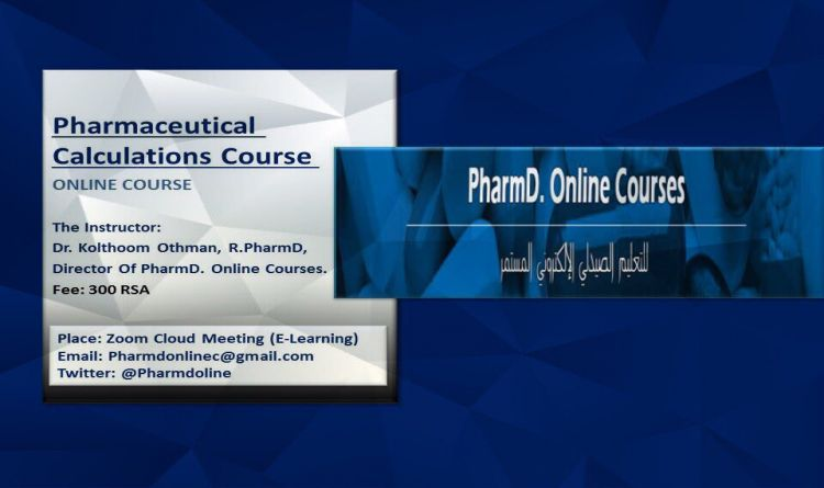 Pharmaceutical Calculations Course