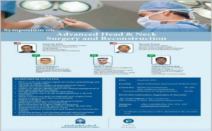 Advanced Head & Neck Surgery & Reconstruction Symposium