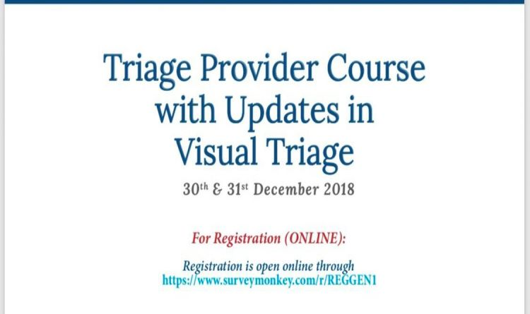 Triage Provider Course with Updates in Visual Triage