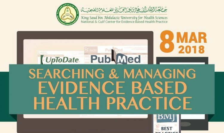 Searching and Managing  EVIDENCE BASED HEALTH PRACTICE