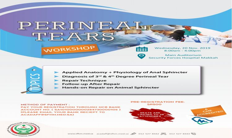 Perineal Tears Workshop