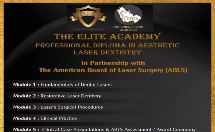 Professional Diploma in Aesthetic Laser Dentistry