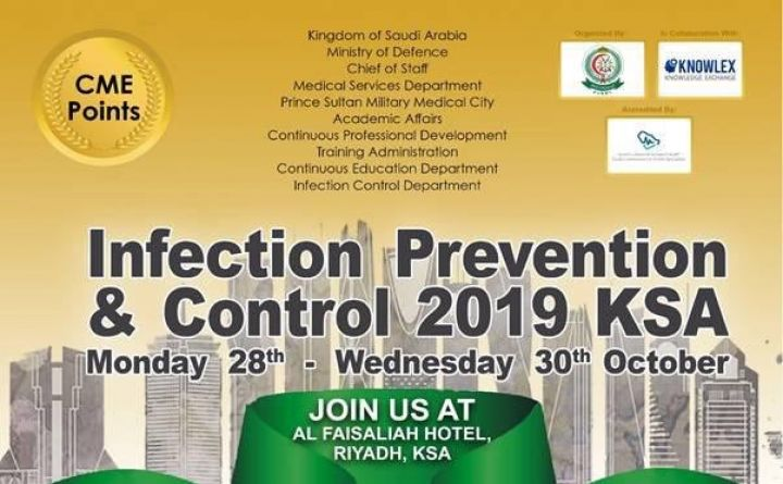 Infection Prevention & Control 2019 KSA