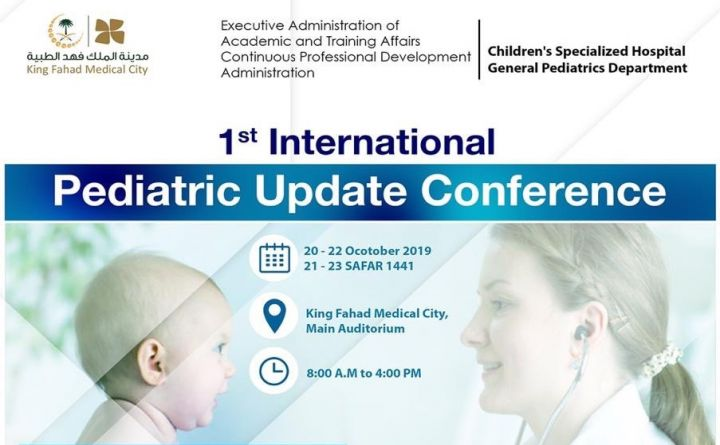 1st International Pediatric Update  Conference