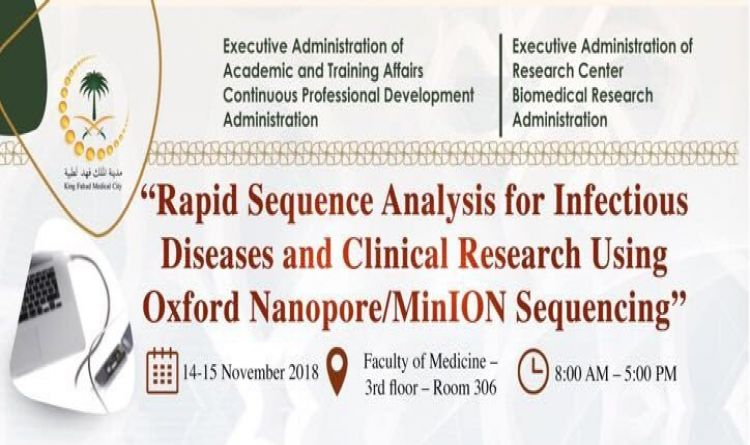 Rapid Sequence Analysis for Infectious Diseases and Clinical Research Using Oxford Nanopore/MinION Sequencing