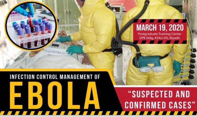 Infection Control Management of EBOLA