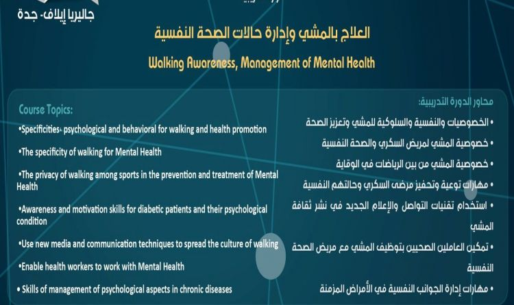 Walking Awareness, Management of Mental Health