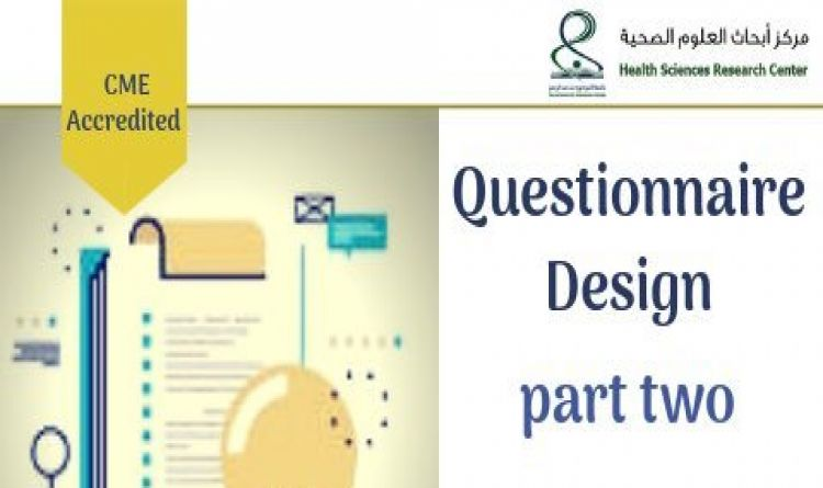Questionnaire Design part two