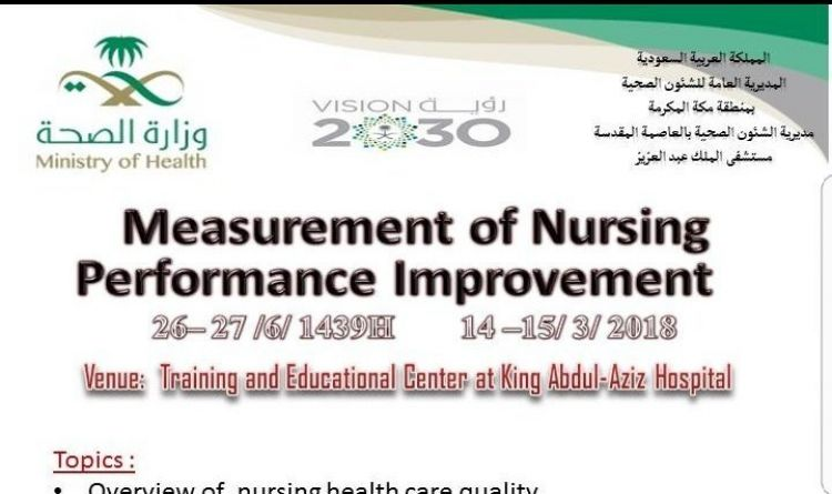 Measurement of Nursing Performance Improvement