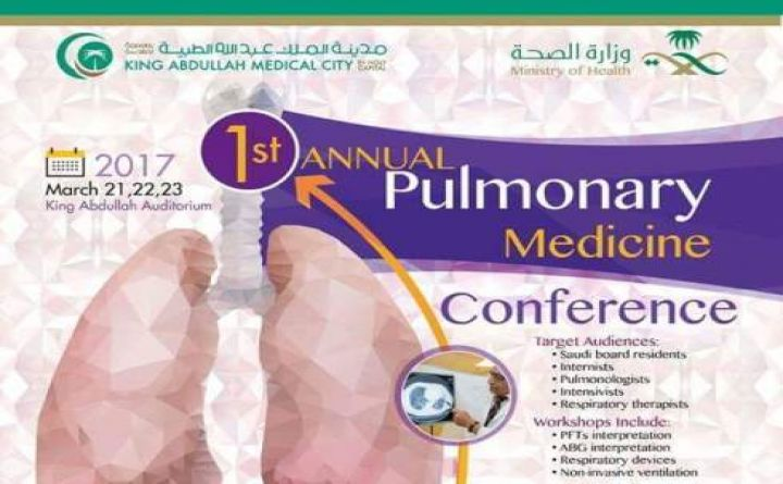 1st Annual Pulmonary Medicine Conference