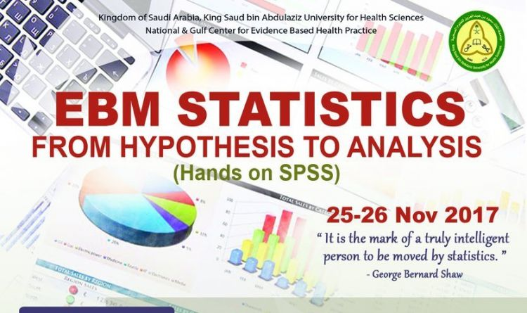 EBM Statistics ||  From Hypothesis to Analysis