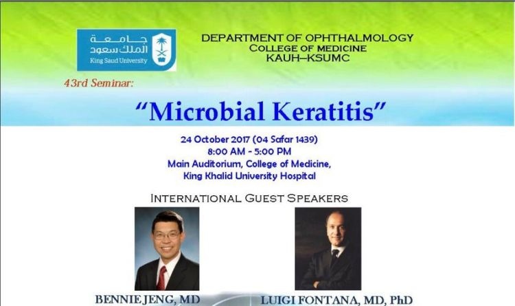 MICROBIAL KERATITIS