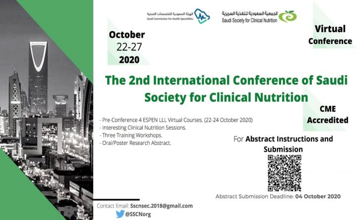 The 2nd International Conference of Saudi Society for Clinical Nutrition