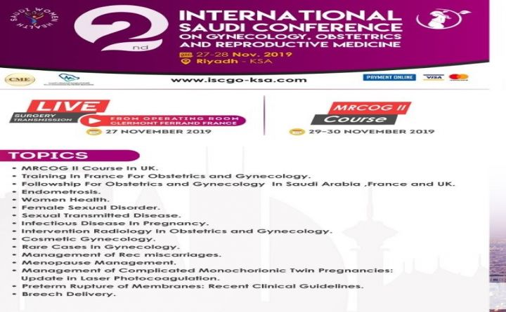 International Saudi Conference Gynecology, Obstetrics Reproductive Medicine
