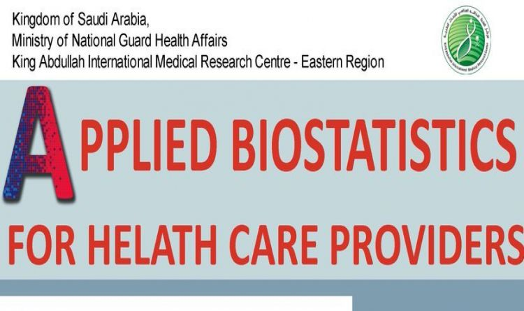 APPLIED BIOSTATISTICS FOR HEALTH CARE PROVIDERS