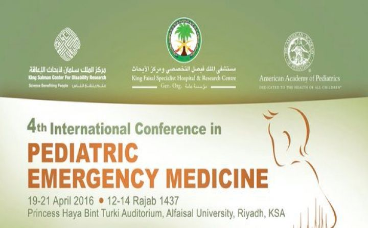 The 4th International Conference in Pediatric Emergency Medicine