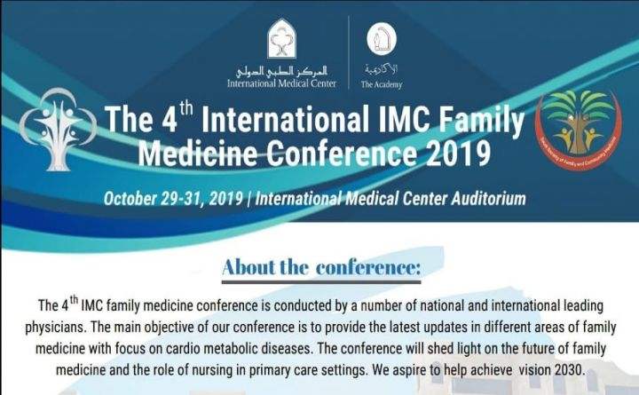 The 4th International IMC Family Medicine Conference 2019