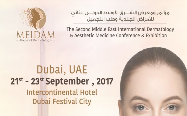 THE SECOND MIDDLE EAST INTERNATIONAL DERMATOLOGY & ANESTHETIC MEDICINE CONFERENCE AND EXIBITION