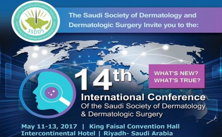 14th International Conference of the Saudi Society of Dermatology and Dermatologic Surgery