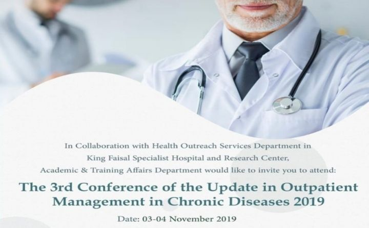 The 3rd Conference of The Update in Outpatient Management in Chronic Diseases 2019