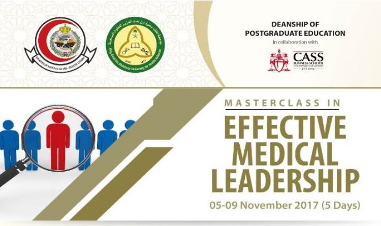 Master Class in EFFECTIVE MEDICAL LEADERSHIP