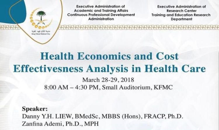 Health Economics and Cost Effectiveness Analysis in Health Care