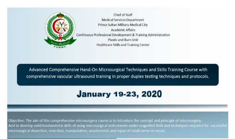 Advanced Comprehensive Hand-On Microsurgical Techniques and Skills Traning Course With Comprehensive Vascular Ultrasound
