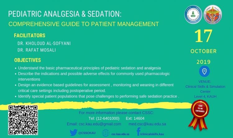 Pediatric Analgesia & Sedation: Comprehensive Guide To Patient Management