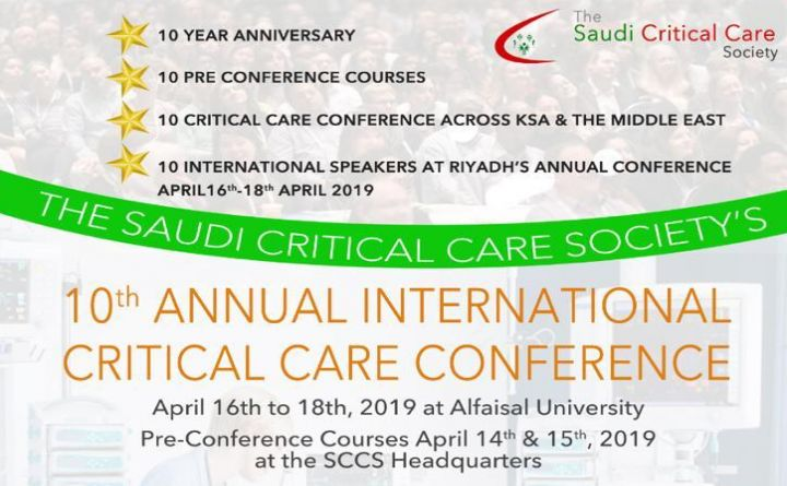 10th Annual International Critical Care Conference
