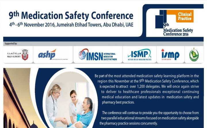 9th Medication Safety Conference