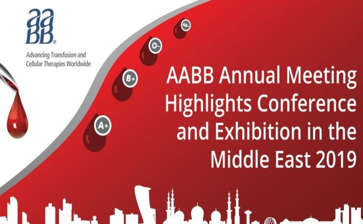 AABB Annual Meeting Highlights Conference and Exhibtion in the Middle East 2019